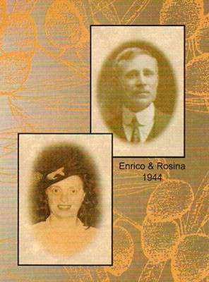 Portraits of Enrico and Rosina Formella, 1944