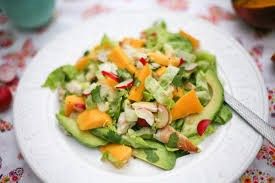 Chicken, Avocado and Mango Salad