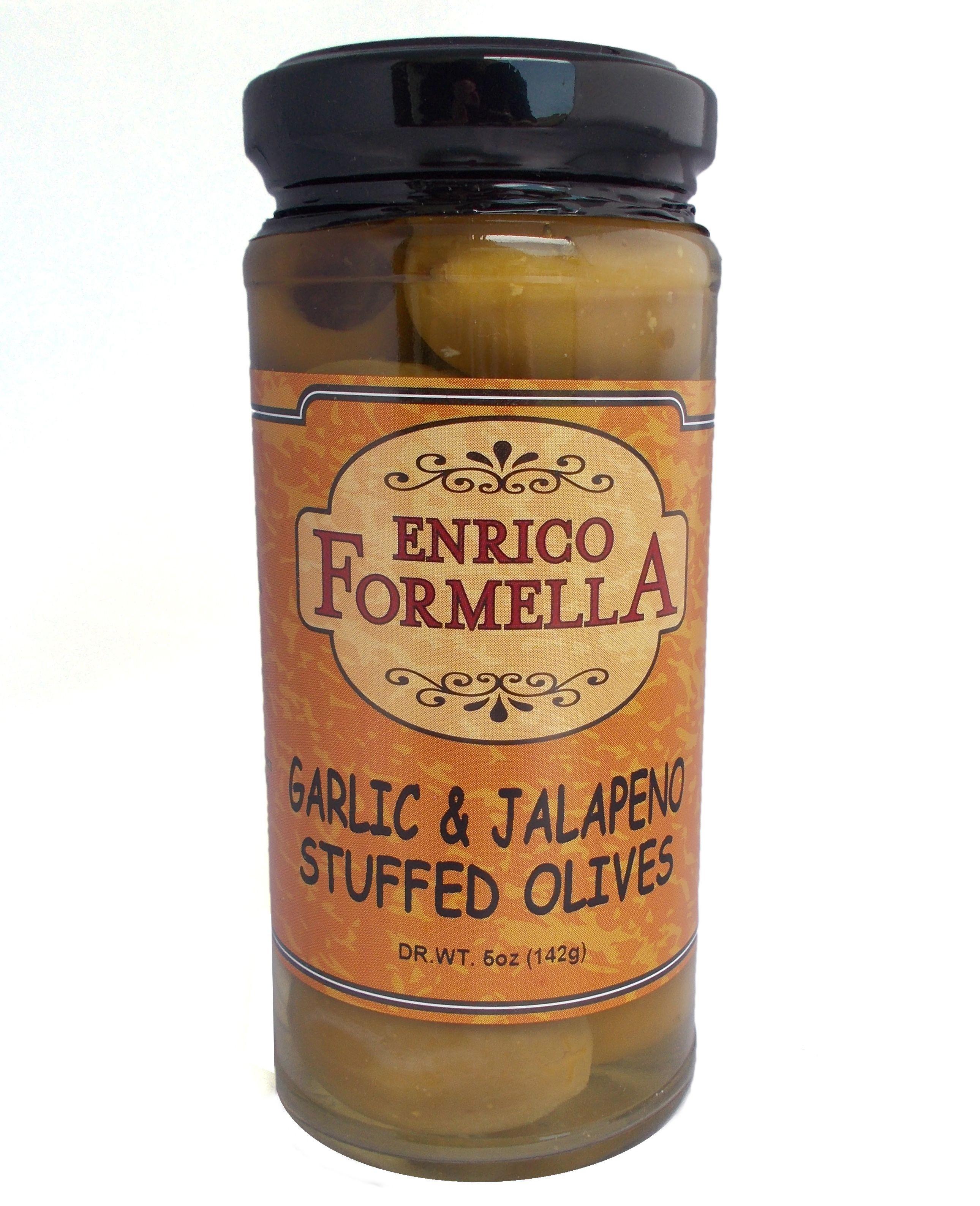Garlic & Jalapeno Stuff Olives